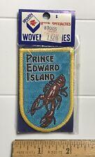 NIP Prince Edward Island PEI Canada Canadian Lobster Souvenir Woven Patch Badge