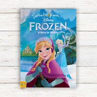 Personalised Photo Disney Frozen Children Story Book Bedtime Stories Softback
