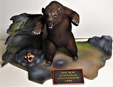 AURORA Cave Bear Prehistorc Dinosaur original 1972 Professional AIRBRUSHED model
