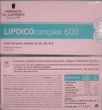 LIPOICO COMPLEX 600  nuovo STIMUN-OX con Acido Alfa Lipoico vit B1 B6 B12