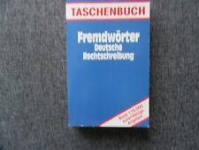 ***Bücher/ Sachbücher/ Fremdwörter, Deutsche Rechtschreibung