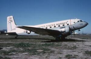 35mm Aircraft Slide USM 17108 'CN' Douglas C-117D Skytrooper MASDC 1979