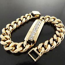 Cubic Zirconia Gold Fashion Bracelets