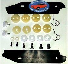 67-69 Camaro Firebird Rear Quarter Window Crank Glass Regulator Roller Kit GR