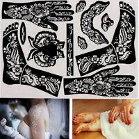art - vorlage indien henna - kit vorübergehende abziehbild tattoo - schablonen
