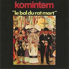 "Komintern:  ""Le Bal Du Rat Mort""  (CD)"