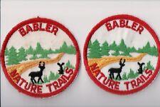 BSA Patch, Babler Nature Trails, Missouri, Two Patch Varieties