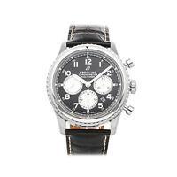 Breitling Navitimer 8 B01 Chronograph Steel Auto 43mm Mens Watch AB0117131/B1P1