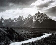 "Ansel Adams, ""Grand Teton National Park, 1941"", digital, 17""h x 22""w"