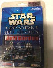 ACTION RACING 1/64 SCALE JEFF GORDON #24 STAR WARS EPISODE 1 !