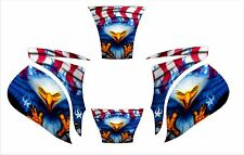 MILLER ELITE WELDING HELMET WRAP DECAL STICKER SKINS  jig welder stickers 1d