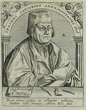 Erasmus sarcer-Lipsia teologo-Robert Boissard-rame chiave 1597-99