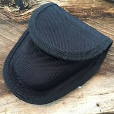 UNIVERSAL Police Duty Handcuff Pouch Holster Black belt loop New! 210949 -TH