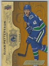 NEW! ELIAS PETTERSSON 2018-19 UPPER DECK ENGRAINED ROOKIE #133/299