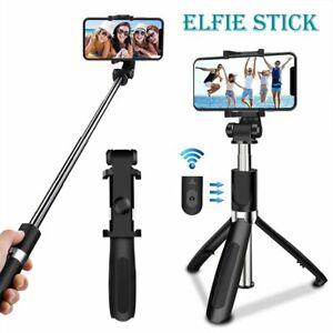 Bluetooth Selfie Stick +Handy Stativ und Fernauslöser Selfiestick für Samsung DE