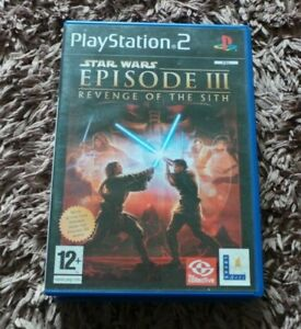 PS2 STAR WARS GAMES COMPLETE WITH MANUAL CHOOSE FROM LIST