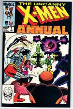 Uncanny X-men Annual 7 VF+ condition