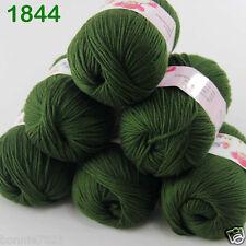 Sale 6 ballsx 50gr DK Baby Soft Cashmere Silk Wool hand knitting Crochet Yarn 44