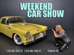 American Diorama 1:18 Scale Figure Weekend Car Show Figure III * AD-38211