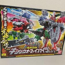 BANDAI Power Rangers Dino Fury Dx Kishiryuoh Five Knights Megazord Ryusoulger