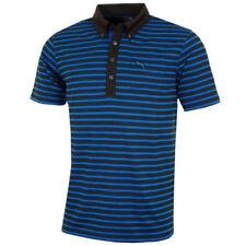 Camisas y polos de hombre azul talla S de poliéster