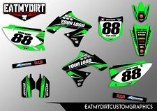 KAWASAKI KXF 250 2009-12 SEMI CUSTOM GRAPHICS STICKERS MOTOCROSS DECALS MX