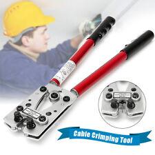 LX-50B 6-50 mm² Wire Terminal Crimper Cable Lug Crimping Plier Connectors Tool