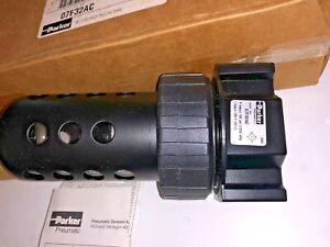 "PARKER 07F36AC Filter,1/2"" NPT,130 cfm,40 micron"