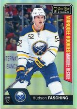 16/17 O-PEE-CHEE OPC PLATINUM ROOKIE RAINBOW #165 HUDSON FASCHING SABRES *32159