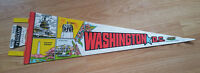 Vintage Washington DC Felt Pennant