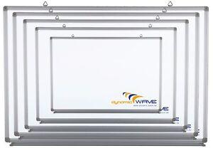 C,D, B Ware Whiteboard Magnettafel Weisswandtafel mit CLIP-Funktion