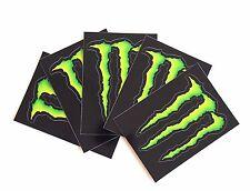 Set of 5 Monster Energy Drink Stickers Decals Skateboard, BMX, ATV