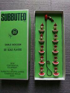 Subbuteo HW team- Man Utd