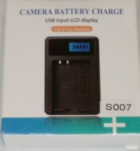 WorldWide Traveling Charger LCD Camera Battery Charger