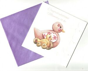 'CONGRATULATIONS MUMMY TO BE' - NEW BABY -  GREETING CARD - QUALITY - FREE P&P