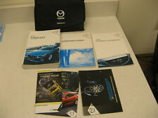 New Listing2014 14 Mazda Three 3 Navigation Owner'S Manual Set Book Fast Free Ship Om78