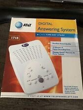 AT&T 1718 Digital Answering System with Time/Day 19 Minute Recording