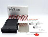 【Almost unused in BOX】 Mamiya RB67 PRO SD Polaroid Film Back Holder JAPAN #1266