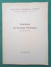 LIBRO Ita Appunti ANATOMIA ED ISTOLOGIA PATOLOGICA Lezioni Prof.G.Bini 1961-62