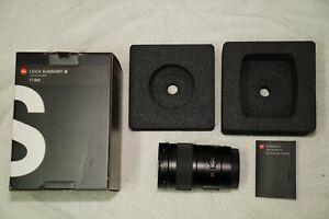 Leica 35mm F2.5 ASPH Summarit S Lens - 11064