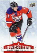 17/18 UPPER DECK CHL TOP PROSPECTS GAME TEAM CHERRY #TP11 GABRIEL VILARDI *48432