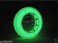 Mini Glow in the Dark Green PLA Color Changing 3D Printing Filament 1.75mm 225g