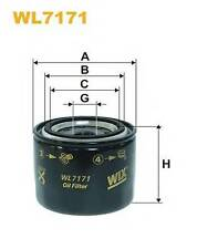 WIX FILTERS WL7171 OIL FILTER  PA516891C OE QUALITY