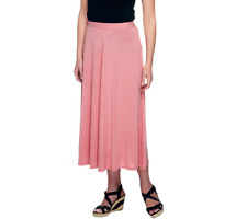 Linea By Louis Dell'Olio Pull On Knit Skirt Size S Lapis Color