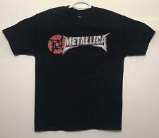 vtg Vintage Metallica 2003 Heavy Metal Tee T-Shirt Mens Size Navy Blue Large