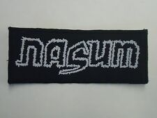 NASUM GRINDCORE WOVEN PATCH