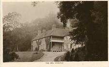 REAL PHOTOGRAPHIC POSTCARD OF THE SPA, DINSDALE (NEAR DARLINGTON), COUNTY DURHAM