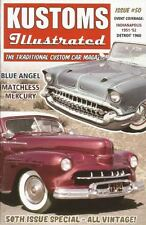 Kustoms Illustrated magazine #50. 1957 Chevrolet. 1951 Ford. 1948 Mercury.