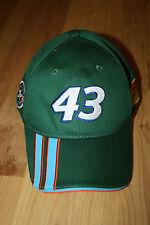 NASCAR Racing #43 Eckrich Operation Homefront Green Adjustable Baseball Cap Hat