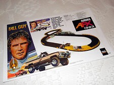 "Custom AFX Wall Art - AURORA ""1983 AFX The FALL GUY""  17 W x 11 T Hi QA POSTER"